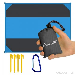 Ambielly Beach Blanket Waterproof Sand-proof Outdoor Blanket Portable Oversized Picnic Mat for Travel Camping Hiking Beach and Music Festivals - B07BB7KZ8W