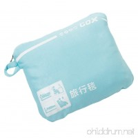 Cozy-Soft Travel Blanket Compact Lightweight Portable with Bag (Sky Blue) - B06XWSVVXS