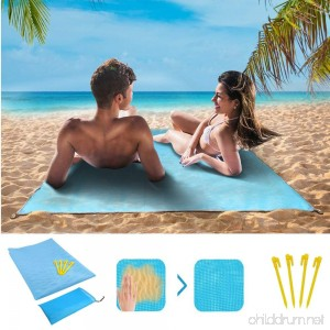 LOWELLTEK Sand Free Beach Mat Sand Proof mat is easy to clean and dust prevention perfect for the Outdoor Events with your family - B07C1YLTBF