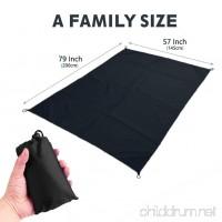 Nobadaysc Beach Blanket Sand Proof  Portable Outdoor Waterproof Mat  Compact and Lightweight Pocket Blanket 57″×79″ - B07D72Q4YK