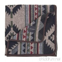 RUTH&BOAZ Outdoor Wool Blend Blanket Ethnic Inka Pattern(L) - B07421FKTD