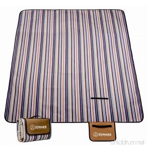 ZOMAKE Picnic Blanket Waterproof Portable oversized 80 x 60 Inches Beach Mat - B07B7HSSC7
