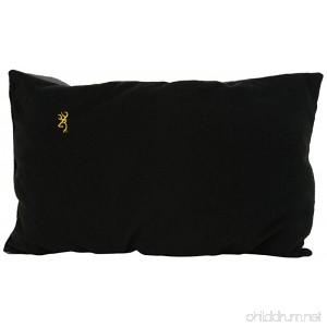 Browning Camping Black Fleece Pillow - B004XXHCDS