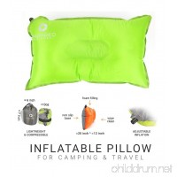 Camping Pillow by Inspired Equipment   Compressible & Portable   Best Camping Gear For Adults & Kids   - B01AC1YPY8