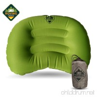 Gypsy's Cart Travel Camping Pillow. Ultralight and Ultra Compact Inflatable Cushion Provides You With A Great Night's Sleep When On The Road Or Trails. Carrying Case Included - B078GWNB2G