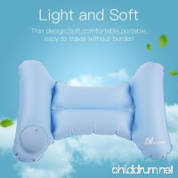 NULIPAM Lumbar Pillow Inflatable Ultralight Back Support Cushion Compressible Camping Pillow for Sleeping Office Chair Car Outdoor Travel - B07FBGW6C1
