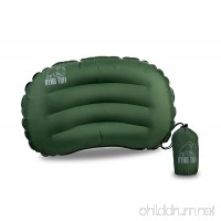 Ryno Tuff Ultralight Camping Pillow - Portable Durable And Inflatable Travel Pillow Provides Comfort and Insulation While Camping Backpacking Thru Hiking and Traveling. Carry Bag Included - B0792NMJ2K