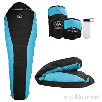 Outdoor Vitals Atlas 15°F Lightweight Down Sleeping Bag with Compression Sack & - B00KWU4YL4