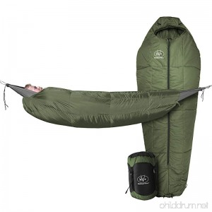 Outdoor Vitals StormLight 15 Degree MummyPod Sleeping Bag for Hammock or Ground Camping Ultralight Backpacking Sleeping Bag Compression Bag and Suspension Included - B06Y5TM4SX