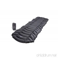 Blakroq Alta X - New Ultra Lightweight Sleeping Pad for Men and Women - Custom Designed Pads for Outdoor Sleep  Hiking  Backpacking  and Camping - Fast Inflating  Portable  Compact  and Comfortable - B079DVTQ8F