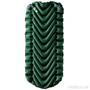 Klymit Static V Junior Sleeping Pad Green/Char Black - B01BKCAXJ4