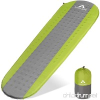 Last Lake Outdoor Sleeping Pad for Camping  Backpacking  and Hiking - Mats are Comfortable  Lightweight  and Durable - They Pack Up Small  are Easy to Inflate  and Will Not Leak Air - B0733WV959