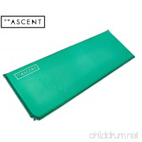 NW Ascent Sleeping Pad - Long and wide self-inflating air mattress for camping hiking backpacking or cot - B06W558BQJ