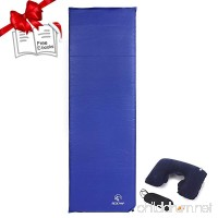 Redcamp Backpacking Sleeping Pad for Camping  XL Lightweight Folding Self Inflating Air Mattress Air Pad Sleeping - B01LW3V9XO