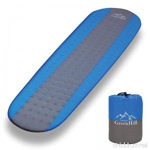 Sleeping Pad – Premium Self Inflating sleeping pad – lightweight and compact – Ideal Backpacking Sleeping Pad for Camping Hiking & Traveling- 1.5 Thick - Best Boy Scout and Girl Scout Sleeping Mat - B07C2JVZCQ