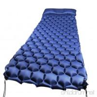 WEINAS Sleeping Pad Ultralight Compact Camping Backpacking Air Pad With Pillow Inflatable Sleeping Mat Portable Hiking Mattress - B079MGCCSC
