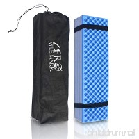 Zero Mile Mark Compact Foam Camping Mat Sleeping Pad Mattress for Tent – Lightweight and Damp Resistant – Includes Packing Bag for Hiking  Outdoor Camping and Mountaineering - B07D9424CW