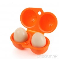 Pure Vie Portable 2 Egg Slots Holder Shockproof Storage Box for Camping Hiking #1 - B076H4CPQ3