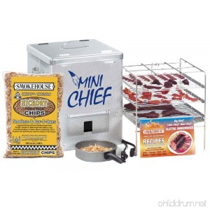 Smokehouse Products Mini Chief Top Load Smoker - B001NZRLTO