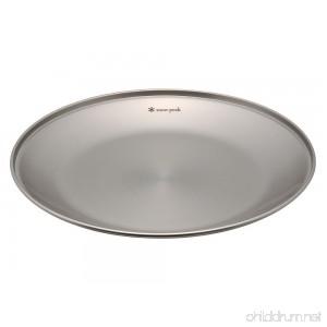 Snow Peak Tableware Plate Large - B000B8PPXS