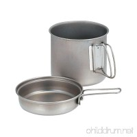 Snow Peak Trek 1400 Aluminum Cookset - B000AR2N30
