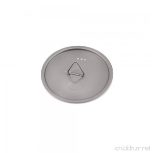 TOAKS Titanium Lid 80mm 95mm 115mm 130mm 145mm 170mm for TOAKS Cups and Pots - B072BTZ7RM