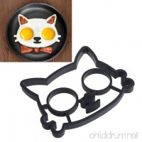 Doober Silicone Cats Shaped Egg Shaper Fried Eggs Kitchen Cooking Tools Mould Ring Mold - B01MYFDY6J