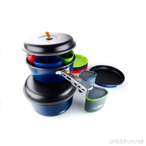 GSI Outdoors Bugaboo Camper Nesting Cook Set Superior Backcountry Cookware Since 1985 - B0078SCEG0