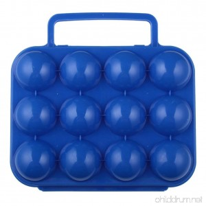 Water & Wood Portable Plastic Egg Storage Box Egg Carrier Container - B00HO7BYES