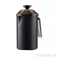 Alocs New outdoor camping travel coffee pot coffee cup French filter coffee pot teapot household portable law press hand coffee maker - B07FMFXXTY
