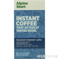 Alpine Start Coconut Creamer Instant Coffee - 5-Pack - B07F1ZPPB7