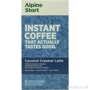 Alpine Start Coconut Creamer Instant Coffee - 5-Pack - B07F1ZPPB7
