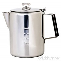 Chinook Timberline 12 Cup Stainless Steel Coffee Percolator - B001NAAR5Y