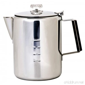 Chinook Timberline 12 Cup Stainless Steel Coffee Percolator - B001NAAR5Y