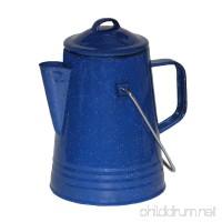 Grip Blue Enamel Coffee Percolator - B016QTUIFA