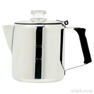 GSI Glacier Stainless Coffee Perk Cup 3-Cup - B0018BLHES