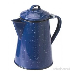 GSI Outdoors 15152 Enamelware 8 Coffee Pot 8 8 cup Blue - B0002YTYLA