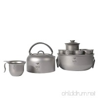 Keith Titanium Ti3900 Tea Set - B0714KHHGZ