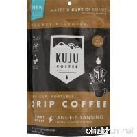 KUJU COFFEE Pocket PourOver Coffee - 5-Pack - B0752MPL5K