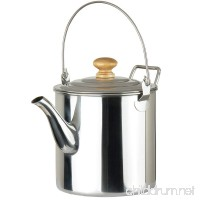 Lixada 3000ML Outdoor Camping Pot Stainless Steel Kettle Tea Kettle Coffee Pot - B010SDW2ZY