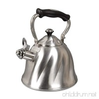 Mr. Coffee Alderton Stainless Steel 2.3-Quart Whistling Tea Kettle - B014U002CQ