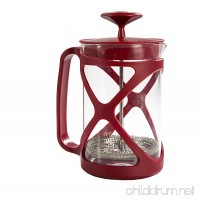 Primula Tempo Coffee Press – For Rich  Non-Bitter Coffee – French Press Design – Easy to Use – Makes 6 Cups – Red - B006C9TPN6
