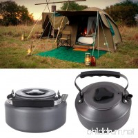 Secologo Ultra-light 1.1L Outdoor Camping Aluminum Portable Coffee Pot Water Kettle Teapot with Mesh Bag Teapot Survival Kettle - B07FMPZ85W