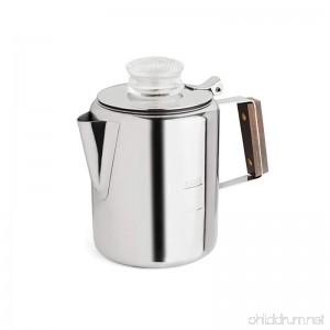 Tops 55702 Rapid Brew Stovetop Coffee Percolator Stainless Steel 2-3 Cup - B000QOM6P2