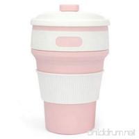 Yiwu Fanjin Silicone Collapsible Cup BFA Free & FDA Grade 350ML Foldable Coffee Mug - B07FJN9D8S