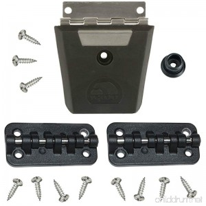 Igloo Cooler Replacement Hybrid Stainless/Plastic Latch & Hinge Set - B00X7WHHM2