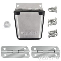 Igloo Cooler Replacement Stainless Steel Latch & Hinge Kit - B0754G64JZ