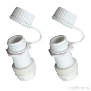 Igloo Replacement Threaded Drain Plug (2-Pack) - B00SQZVLIQ