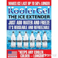 KoolerGel The Ice Extender By TBK Industries LLC - B005Z7YZA4