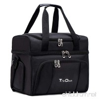 TripDock Large Capacity Insulated Cooler Bag (15x 9x 12 inches)-Outdoor Picnic Lunch Box-Thermal Travel Coolers Tote - B071R8WD2M